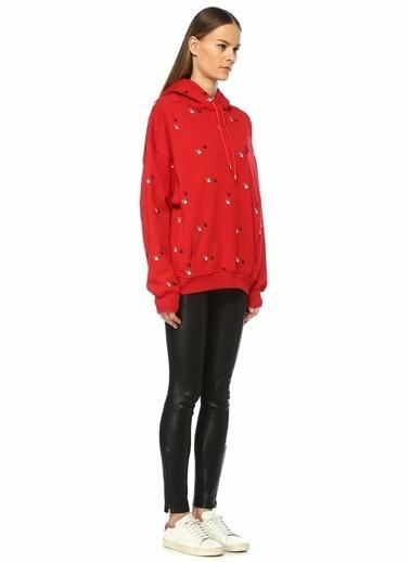McQ Alexander McQueen Sweatshirt Kırmızı